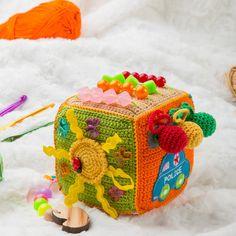 Crochet juguetes educativos fina motricidad сube juego para