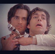 Matt Bomer AND Zachary Levi.... can't handle it