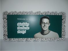 Welcome Guests to Your Next Party! Laser Cut and Engraved Signs! Download the Free File! #Trotec Laser