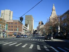 timeline of hartford connecticut downtown | Driving north on Main Steet, Hartford, CT.