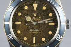 1958 Rolex Submariner 5508 Tropical Dial