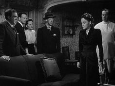 The Dark Mirror (1946) Lew Ayres, Film Noir, Robert Siodmak,  Thomas Mitchell,  Olivia de Havilland