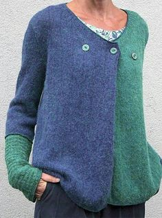 Women's Basic Button Geometric Pullover Long Sleeve Loose Sweater Cardigans V Neck Winter Blue Purple Yellow 2020 - US $24.14 Sweater Coats, Sweater Cardigan, Chunky Cardigan, Knit Sweaters, Loose Sweater, Casual Sweaters, Sweaters For Women, Raglan Pullover, Sweatshirt