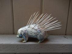 Vintage Porcupine Toothpick Holder on Etsy, $14.99