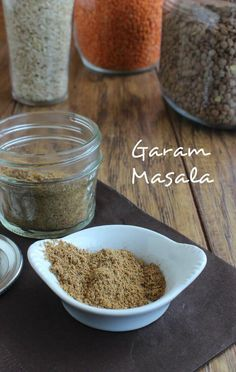 Homemade Garam Masala Spice mixture will take you a long way in adding flavors to your dishes. A simple blend that you just mix and use whenever it calls. #garammasala #garammasalarecipe #vegangarammasala #DIYgarammasala #garammarsala #garammasalaspice #vegetariangarammasala Paleo Indian Recipes, Vegan Recipes, Cooking Recipes, Homemade Spices, Homemade Seasonings, Masala Spice, Garam Masala, Spice Blends, Spice Mixes