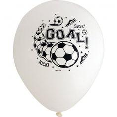 Soccer Printed Latex Balloons (8)