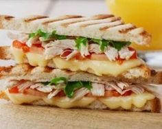 A fast and fancy grilled cheese recipe. Make this sandwich extra delicious by adding mozzarella cheese, olive oil mayo and rosemary. Chicken Recipes For Kids, Healthy Chicken Recipes, Healthy Cooking, Meat Recipes, Grill Cheese Sandwich Recipes, Salty Foods, Bruchetta, Yum Yum Chicken, Food Inspiration