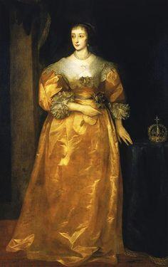 Henriette de France by van Dyck