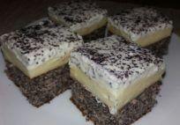 Érdekel a receptje? Kattints a képre! Küldte: aranytepsi Hungarian Recipes, Pudding, Cheesecake, Good Food, Food And Drink, Sweets, Baking, Ale, Poppy