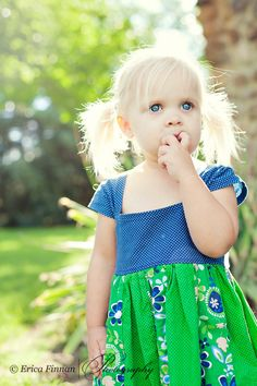 Patchwork Milkmaid lace up dress for girls and babies. Make from old t-shirt and leftover fabrics.