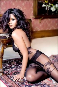 We love body stockings.....they hug and streamline your silhouette and attract the eye with the beautiful patterns...