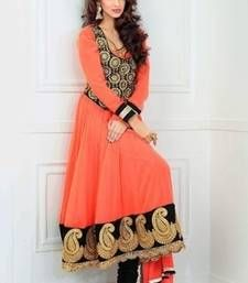 Buy Amazing designer party wear narkali style attire Online