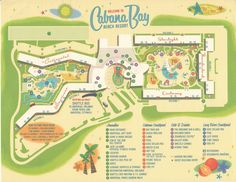 Map Cabana Bay Beach Resort Family Suite from yourfirstvisit.net
