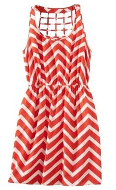 f61df93b9641f Red and White chevron dress from Target Target Dresses, Chevron Dress, Open  Weave,