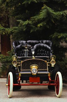 1904 Franklin Model Type B Light Tonneau (Franklin Automobile Company, Syracuse, New York 1902-1934)