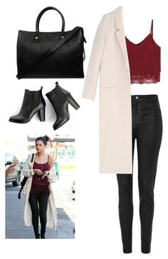 Get the look by fangirl145 on Polyvore featuring polyvore, fashion, style, Acne Studios, Topshop, SWEET MANGO and Paul & Joe