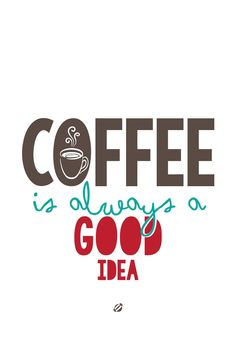 Coffee Is always a good idea www.hotel-posta.it