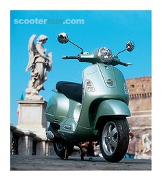 Vespa Granturismo 200  Mine is pearl white.  #ridecolorfully, #katespadeny and #vespa