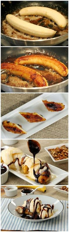 DIY Delicious Spatula: Brown Butter Banana Dessert DIY Delicious Spatula: Brown Butter Banana Dessert # Trendfrisuren William, akkurater Mittelscheitel oder People from france Lower Expire Frisurentrends 2020 sind vielseitig: Lässig, . Fruit Recipes, Sweet Recipes, Dessert Recipes, Cooking Recipes, Bon Dessert, Banana Dessert, Banana Snacks, Simple Dessert, Snacks