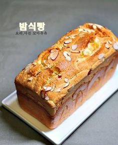 고소하고 달콤한 밤식빵 만들기 12월이 시작되었어요~ 12월 1일 월요일이라... 뭔가 모르게 딱 떨... Korean Sweet Potato, Sweet Potato Bread, Bread Recipes, Cake Recipes, Cooking Recipes, Korean Bread Recipe, Rice Cakes, Desert Recipes, Recipes