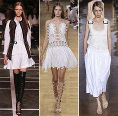Spring/ Summer 2015 Color Trends: White