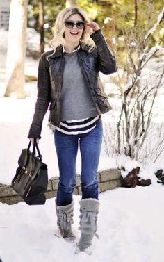 Snow Fashion Boots