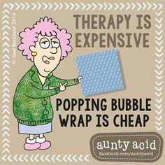 #AuntyAcid therapy