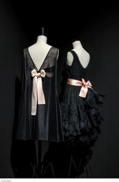 """110bf8b19104 ... """"Couture"""" of Couturiers, showcasing variations of black repeated in  over 100 pieces from the Galliera collections and the archives of Maison  Balenciaga."""