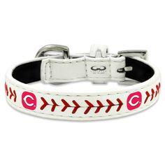 MLB Cincinnati Reds Classic Leather Baseball Dog Collar, $18.04, Save: $7.95 (31%)  https://twitter.com/AmaznCincinnati/status/441664797550317568