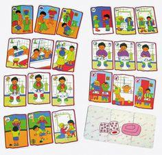 Le jeu sur l'Hygiène consiste à reconstituer 8 petites histoires de 3 cartes dans l'ordre chronologique sur le théme de l'hygiène. Contenu du jeu : 24 cartes en PVC indéchirables de 11.5 x 8 cm.Intérêts pédagogiques : Rappel des r...