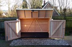 Our Pedalbase shed can store 5 adult bikes and keeps them safe from thieves (£1170).