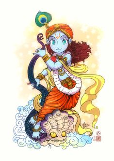 Sri Krishna by In-Sine on DeviantArt Krishna Statue, Bal Krishna, Krishna Leela, Cute Krishna, Krishna Art, Radhe Krishna, Shree Krishna, Durga Maa, Hanuman