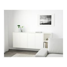 Small Space Storage: 10 Wonderful Wall-Mounted Cabinets — Annual Guide EKET Wall Mounted Cabinet Combination at IKEA $190