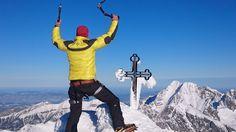 Krátke video o zimnom výstupe na najvyšší vrchol Slovenska, Gerlachovský štít 2655 m n.m. cez Tetmajerove sedlo...