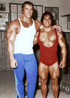 Arnold and Ed Corney