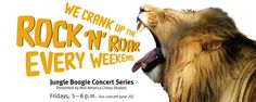 Every Friday the music is going!  As an added bonus, during Fair St Louis the Zoo is open until 8pm!