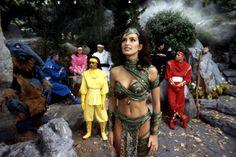 Mighty Morphin Power Rangers.  Dulcea. #josephporrodesigns