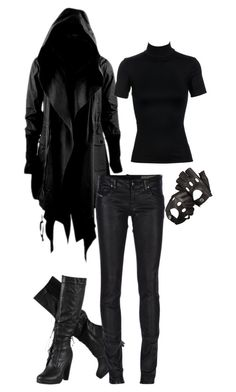 Designer Clothes, Shoes & Bags for Women Bad Girl Outfits, Punk Outfits, Gothic Outfits, Cosplay Outfits, Teen Fashion Outfits, Mode Outfits, Grunge Outfits, Cute Casual Outfits, Spy Outfit
