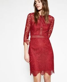 The Kooples Burgundy Dress with Embroidered Lace.jpg
