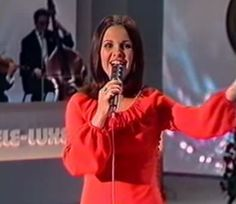 Eurovision Song Contest 1973 : winner Anne Marie David, Luxembourg