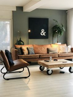 Home Living Room Theaters Living Room Theaters Living Room Green, Boho Living Room, Living Room Paint, Interior Design Living Room, Home And Living, Living Room Designs, Living Room Decor, Modern Living, Barn Living