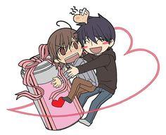 Junjou Romantica - Chibi Nowaki and Hiroki : Valentine's Day Part 2 / 3 ( Junjou Egoist )