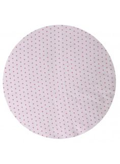 Mini Polka Dot Fitted Baby Cot Sheet