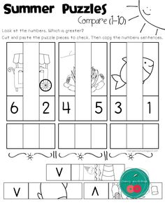Summer No Prep Pack for Kindergarten