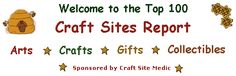 Top 100 Craft Sites Report updates every 30 minutes and resets every 7 days. Crafts To Make, Arts And Crafts, Diy Crafts, Top Websites, Craft Sites, Blog Sites, The 100, Diy Projects, Medical