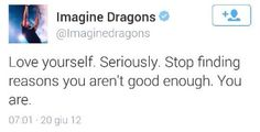 quotes words twitter good tweet reason just sayin Imagine Dragons quoteoftheday