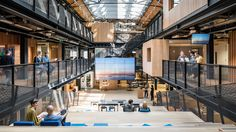 Airbnb Dublin Office interiorhas revealed its new headquarters in Dublin, which mark the first time the company has been able to determine the architectural layout of one of its offices.
