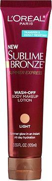 L'Oréal Sublime Bronze Summer Express Wash-Off Lotion