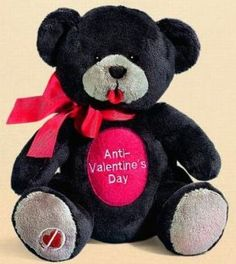 anti valentines day bear
