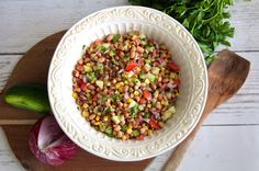 Disney's Animal Kingdom: Harambe Market Black Eyed Pea Corn Salad Recipe